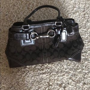 Authentic Coach purse. Smoke free home.